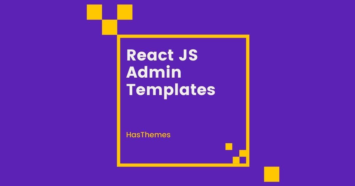 React Admin Template