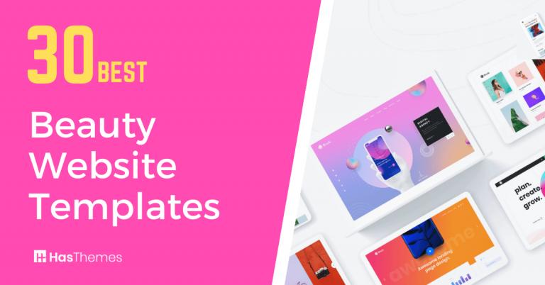 Beauty Website Templates