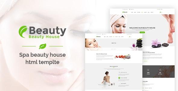 Beautyhouse Health & Beauty HTML Template