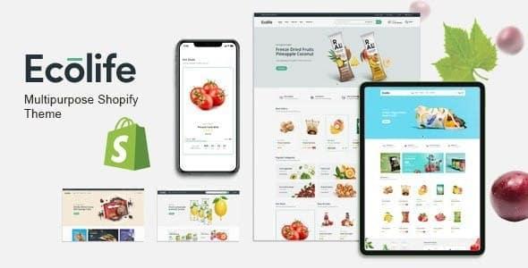 Ecolife  Multipurpose eCommerce Shopify Theme