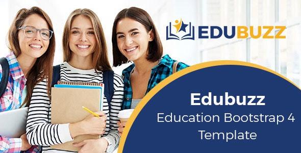 Edubuzz Education HTML Template