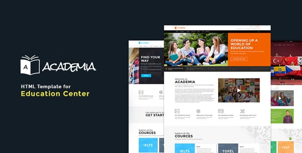 Education HTML Template Academia