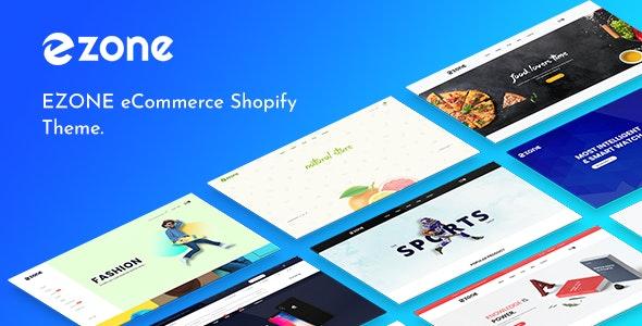 Ezone  multipurpose ecommerce shopify theme