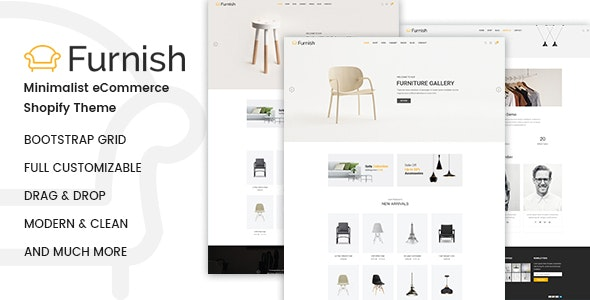 Furnish Minimal Furniture Shopify Theme