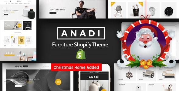 Furniture Store Shopify Theme  Anadi