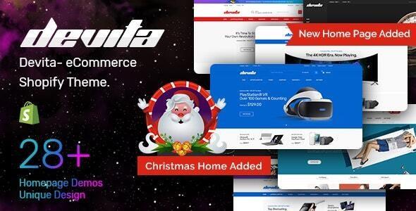 Multipurpose Responsive Shopify Theme Devita