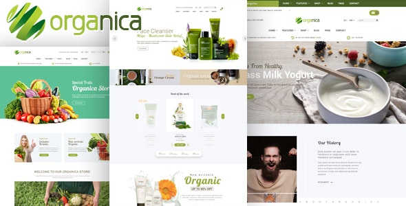 Organica Health Beauty HTML Template