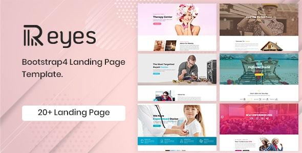 Reyes Multipurpose Landing Page HTML Template