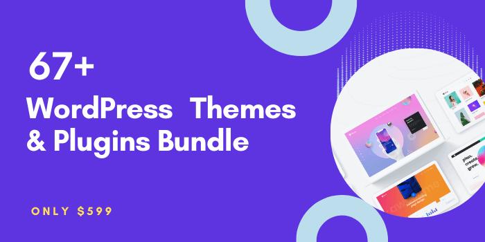 WordPress Themes Plugins Bundle