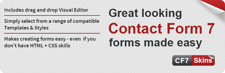 Contact Form 7 Skins