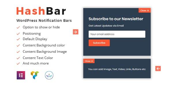 WordPress Notification Bar Plugins