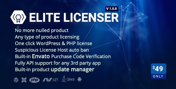 The best Software License Manager for WordPress