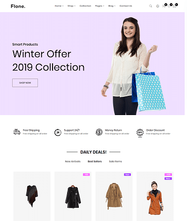 Flone React eCommerce Template