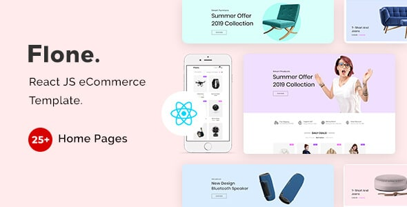 React JS eCommerce Template