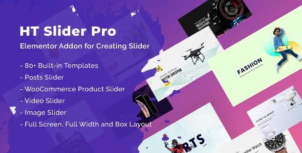 WordPress Slider plugin for elementor