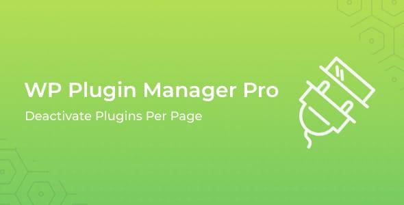 WP Plugin Manager Pro