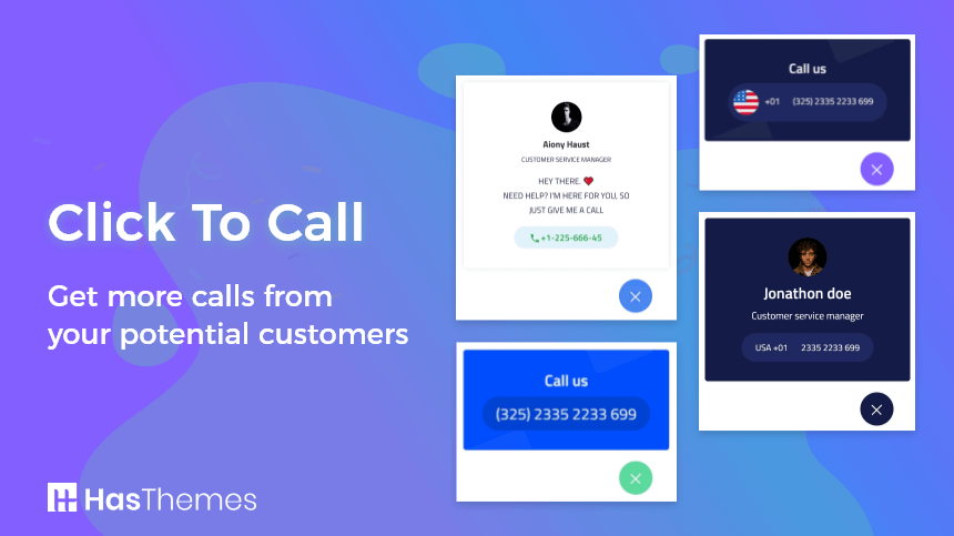 ht click to call - Get more calls from your potential customers