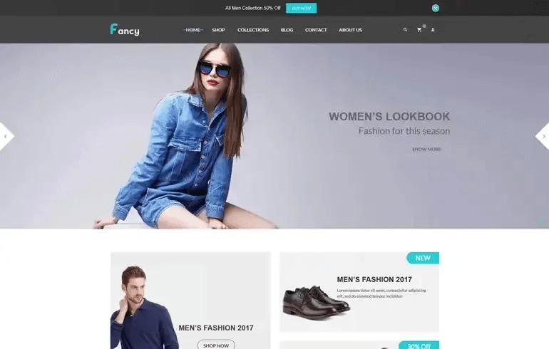 Fancy - ECommerce Shopify Theme