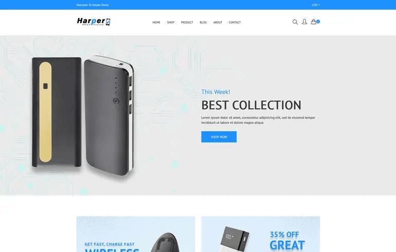 Harper - Phone Accessories Shopify Theme