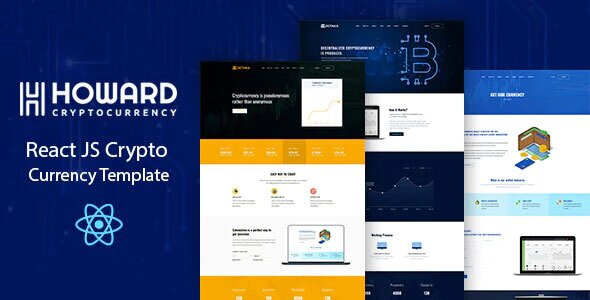 Howard – Crypto Currency Template