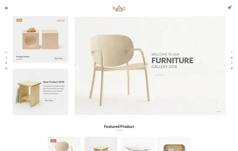 Hurst - Furniture Shopify Theme