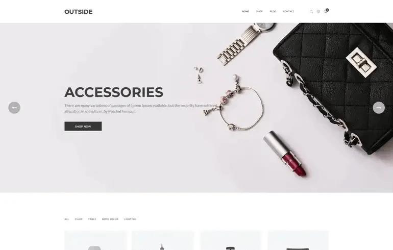 Outside - Minimalist Shopify Theme