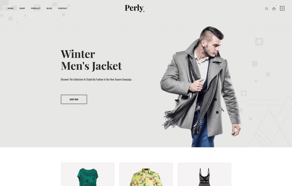 Perly - Fashion Shopify Theme