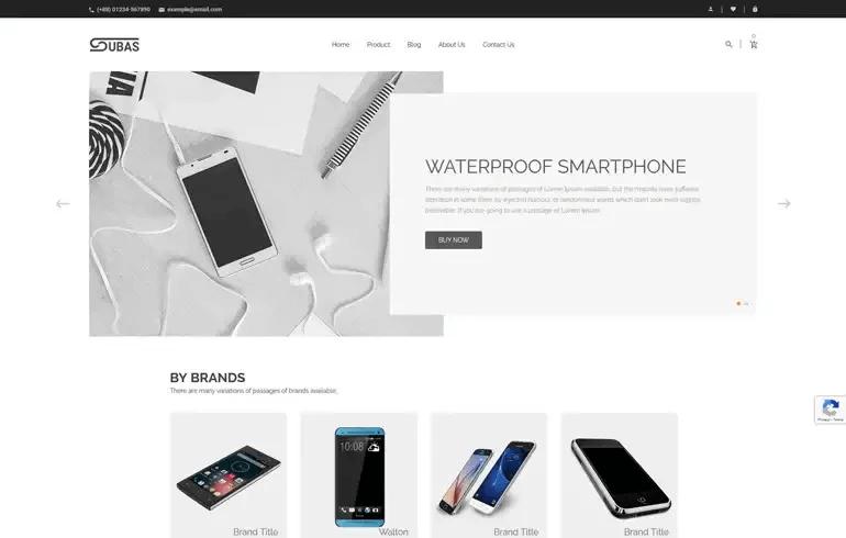 Subas - Electronics Shopify Theme