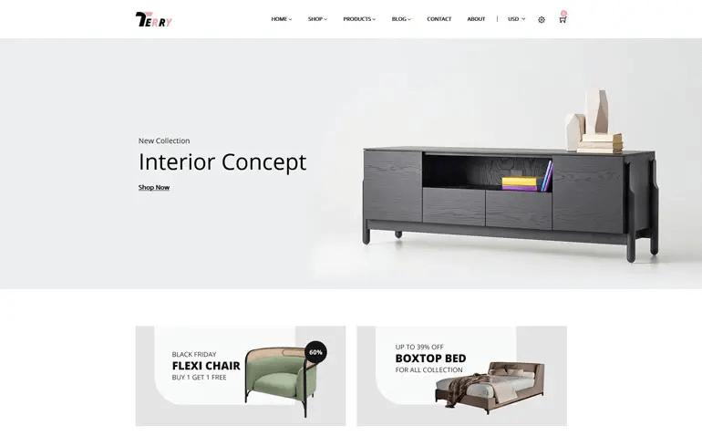 Terry - Furniture Shopify Theme