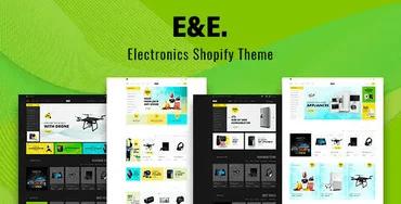 E&E - Electronics Store Shopify Theme