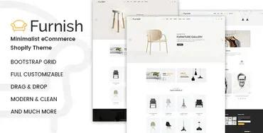 Furnish - Minimal Furniture Shopify Theme