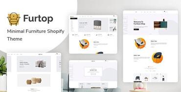 Furtop – Minimal Furniture Shopify Theme