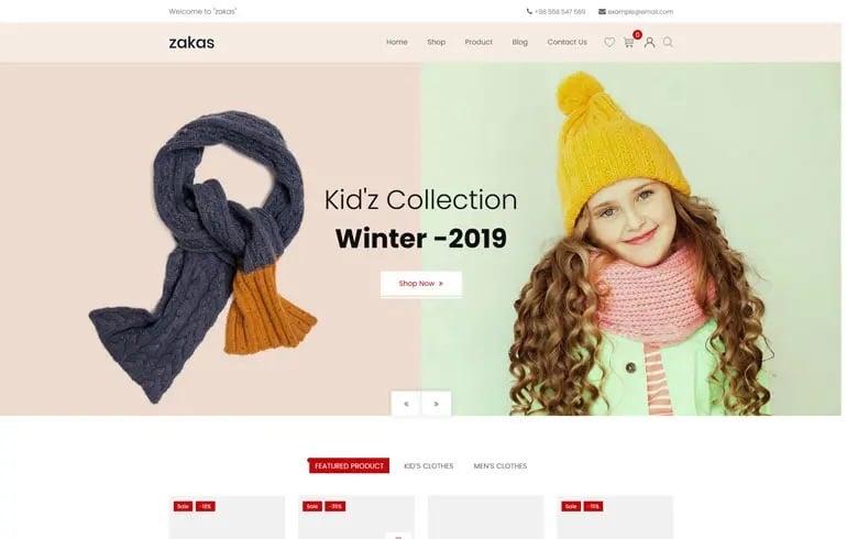 Zakas Fashion Shopify Theme